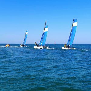 cours voile catamaran oléron yco saint-denis twincat 15