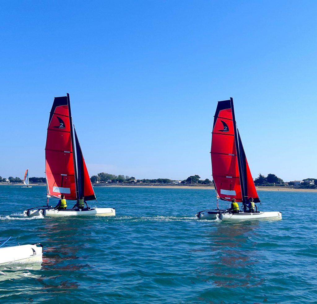 cours voile catamaran oléron yco saint-denis twincat 13