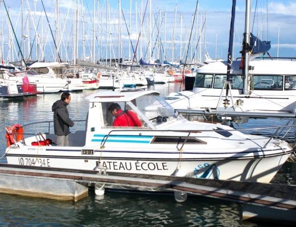 permis bateau oléron yco